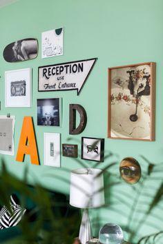 Illustrator and designer Ana Strumpf's imaginative fusion of styles and patterns — Freunde von Freunden Floor Patterns, Living Room Art, Cozy Living, Interior Inspiration, Wall Decals, Signages, Art Walls, Gallery Walls, Interior Design