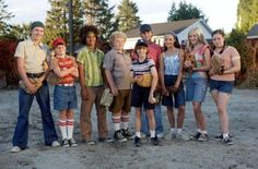 "The cast of ""The Sandlot 2"""