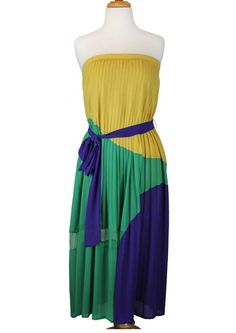 Color Block Maxi Dress, available at Angel to Apple.