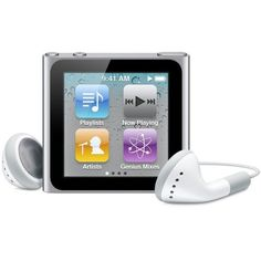 Amazon.com Apple iPod nano 8 GB Silver (6th Generation) (Discontinued... ($118) ❤ liked on Polyvore featuring music and tech