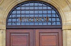 Grundbuchamt im Amtsgericht von Bernau