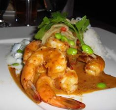 Prawns with Ginger