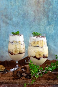 Pudding Desserts, Mason Jar Wine Glass, Candle Holders, Candles, Cooking, Tableware, Sweet, Recipes, Food