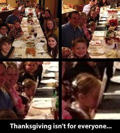 Thanksgiving isn't for everyone:)