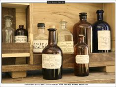 Apothecary:  Photo by Todd Burley