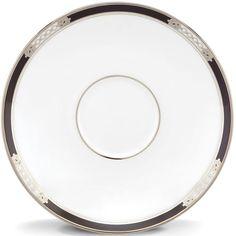 Hancock® Platinum White Saucer By Lenox