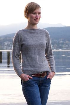 Flax Light pullover by Tin Can Knits