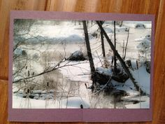 Winter Scene Photograph by nchampagneskuce on Etsy, $3.20