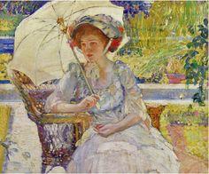 The Garden Seat. Karl Albert Buehr