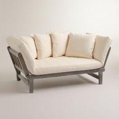 Graywash Studio Day Sofa | World Market: