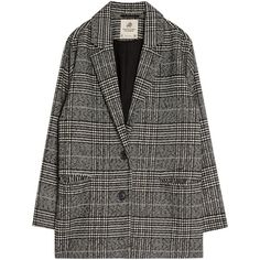 Checked blazer ❤ liked on Polyvore featuring outerwear, jackets, blazers, blazer, clothing - outerwear, tops, checkered jacket, checkered blazer, checked jacket and blazer jacket