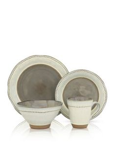 Sango Ruvo Gray 16-Pc. Dinnerware Set - Gray - One Size  sc 1 st  Pinterest : sango soho dinnerware - pezcame.com
