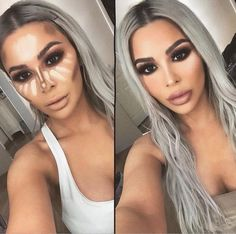 Easy Conture And Hignlight Makeup Tutorial Step By Step Ideas For Prom – Page 15 of 22 – debrapeters.topwo… – Easy Conture And Hignlight Makeup Tutorial Step By Step Ideas For Prom – Page 15 of 22 – debrapeters. Make Up Contouring, Tutorial Contouring, Contouring And Highlighting, How To Contour, Step By Step Contouring, Eyeliner Tutorial, Makeup Tutorial Step By Step, Makeup Tutorial For Beginners, Makeup Spray