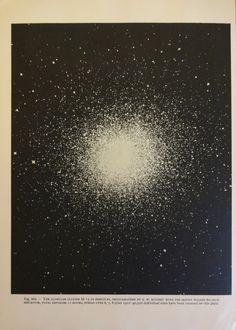1950 original espace & étoiles Vintage astronomie par oddlyends