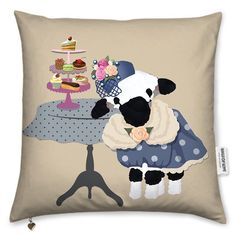 Happy Wednesday everyone... is it really Wednesday!! Mmmm definitely time fir copious amounts of tea!! Well we are on the subject of tea I thought I would share the Time for Tea Lily Lamb cushion. You can find her in my @bagsofloveuk store along with many other lovely lamb related goodies. X.  Just opened a new online store with @bagsofloveuk my Alice by Lily & Lily the Lamb ranges. You can check it out here http://ift.tt/2j13RLw All designs copyright Lisa Marie Olson - Lily the Lamb…