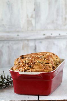 Zöld fűszeres, sajtos lapkenyér (tépőkenyér) Paleo, French Toast, Muffin, Breakfast, Rolls, Drink, Muffins, Beverage, Buns