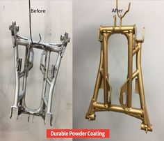 Powder Coated Metal Gold| Durable Powder Coating