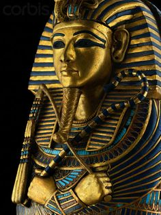 Canopic coffinette of King Tutankhamen