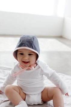 Baby Bonnet Sewing Pattern | See Kate Sew