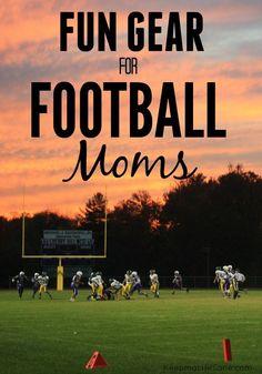 Fun Gear for Football Moms - Keeping Life Sane Tackle Football, Football Moms, Nebraska Football, Girls Football Boots, Football Quotes, Football Gear, Youth Football, Football Season, Football Players