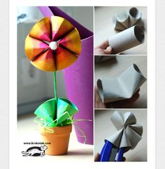 Toilet paper roll craft..