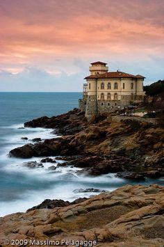 Castello del Boccale, Italy, province of Livorno , Tuscany