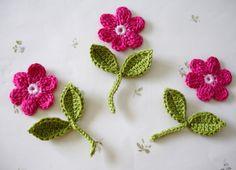 Small Easy Crochet Projects | CROCHET CROCHETED FLOWER - Crochet — Learn How to Crochet