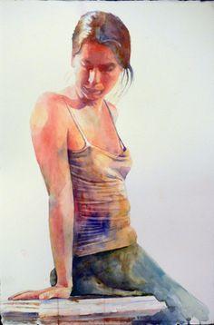 Kim Johnson #watercolor #art