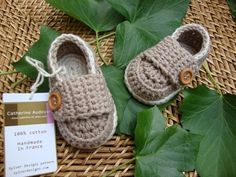 Sweet Crocheted Loafers
