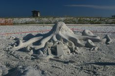 The Navarre Beach Sand Sculpting Festival is back with more soft-pack sculptors, bigger competitions and more family fun.  The festival begins Friday, September 28 and the shows continue through Sunday, September 30