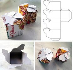 Great DIY cookie boxes to make cute gifts