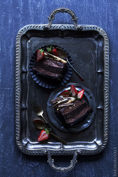 Chocolate Mousse Cake from @Sara Baker Royale | Naomi