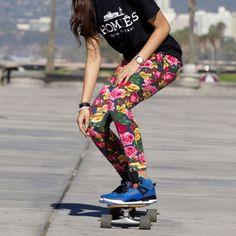 Skate board Jordan's girl