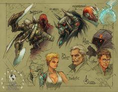 The Quarter Bin » Blog Archive » Cyberforce/Hunter-Killer Coming Next Summer