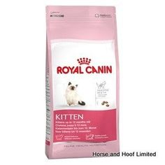 Royal Canin Kitten Food 400g Royal Canin Kitten has been designed for young cats aged up to 12 months The formula has been specifically created to  ensure that young cats continue to grow & build their strength helping them become as strong & sturdy as possible.