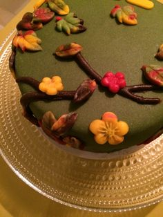Herfsttaart / Autumn Cake - 3 (November 2015)