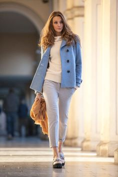 cute outfits with ankle length jeans | Eklè Fall Winter 2016 Collection That Will Keep You Stylish This ...