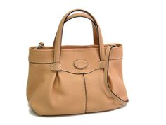 #Tods Hand bag Leather Light Orange(BF060868). Was $575 now $532 http://global.elady.com