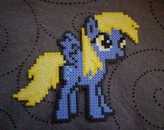My Little Pony Friendship is Magic Derpy Hooves perler beads by Miyuka