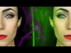 Angelina Jolie (Wearable) Maleficent Makeup Tutorial - MakeupAndArtFreak Youtube