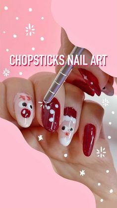 Makeup • Instagram Ugly Xmas Sweater, Chopsticks, Nail Art, Nails, Makeup, Instagram, Finger Nails, Make Up, Running The Gauntlet