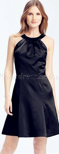 little black prom dress