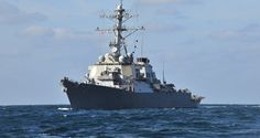 The USS Porter has entered the Black Sea in what the Sixth Fleet says is a routine deployment to ...