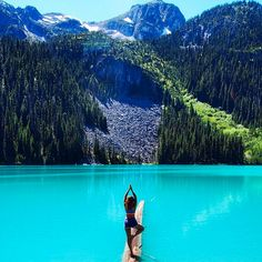 A must....Joffres Lakes, north of Whistler.