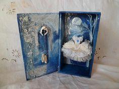 Art Assemblage dress - Swan Lake. RESERVED FOR JAYNE