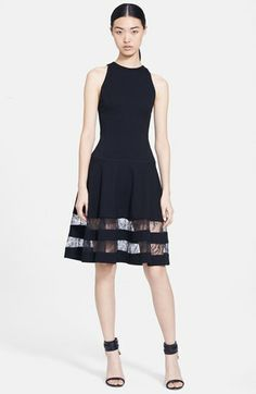 Jason Wu Lace Inset Ponte Dress available at #Nordstrom another WISH