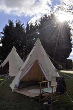 Canvas bell tents have become increasingly popular over the last few years but tepees are still pretty novel so when we came across British tent copmany Northern Star Tepees we were keen to find out more.  Northern Star Tepees specialise in traditional canvas single pole tepees with a modern twist. All of their tepees are high quality and very easy to put up offering something that bit different. Heres what owner Florianne told us.  We are a family who love camping in the Northern English…