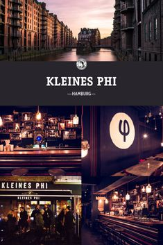 Kleines Phi in Hamburg Mexican Standoff, Beste Cocktails, Bar Interior, Drinks, City, Poster, Things To Do, Viajes, Drinking