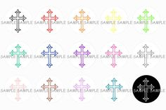 INSTANT DOWNLOAD...Religious Inspired...... by VampCandyDesigns, $1.75