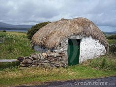 THATCHED SHED, DONEGAL, IRELAND